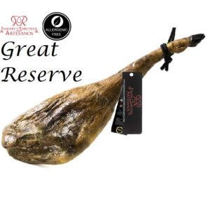 Gourmet Innovative Spanish jamon gran reserva