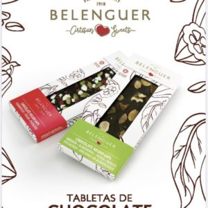 gourmet innovative spanish tabletas chocolate variadas belenguer